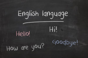 English, learn, students