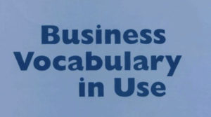 Business vocabulry